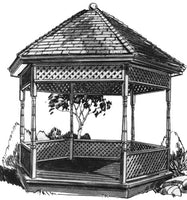 Gazebo PLAN sku#1692