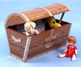 Pirate's Chest Toy Box PLAN sku#258