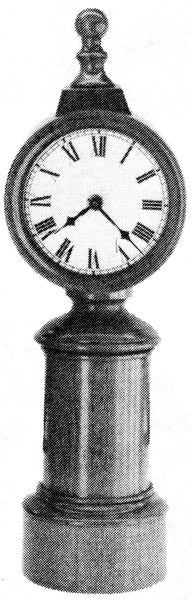 Turners Shelf Clock 286