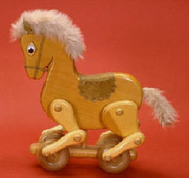 Horse Push Toy Plan sku#332