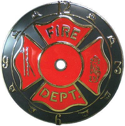 "6"" Fire Dept Dial sku#34019HD"