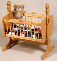 Doll Cradle Pedestal Style