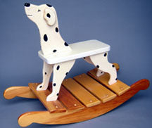 Dalmation Doggy Rocker PLAN