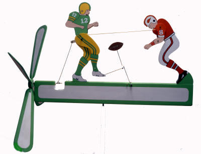 Football Whirligig sku#574