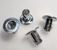 Zinc Plated Propeller Nuts 1/4-20 sku#77501