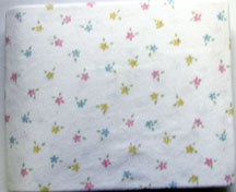 Floral Cradle Sheet