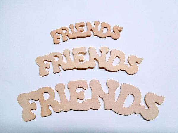 FREINDS Birch Ply Cutouts (arc down)