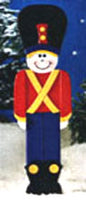 4 Foot Tall Holiday Sentry Plan sku#M48