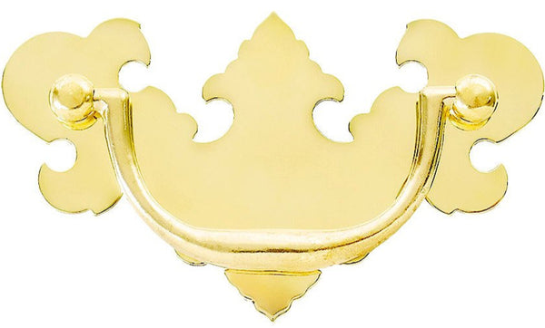 Brass Chippendale Pulls 2 sizes