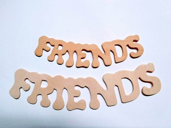 FREINDS Birch Ply Cutouts