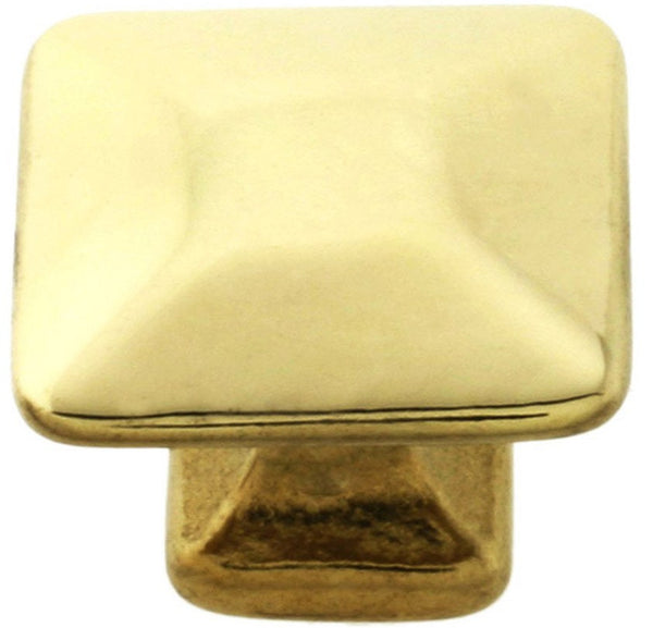 Solid Brass Pyramid Knobs for mission/Stickley furniture.