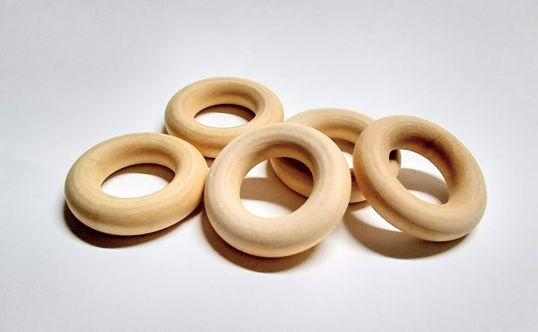 Wood Toss Ring 1-1/2""