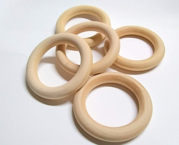Wood Toss Ring 3""
