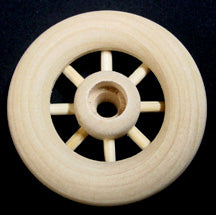 "Spoked Wheel & Axle 2"" Diameter sku#SW2"