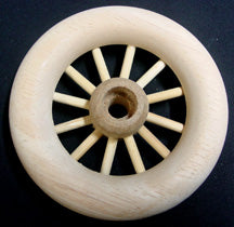 "Spoke Wheel 3"" diameter sku#SW3"