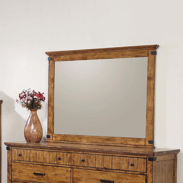 Brenner Rustic Honey Mirror image
