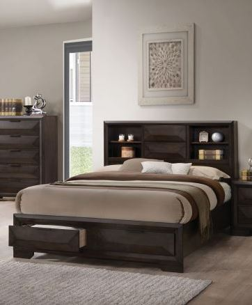 Acme Furniture Merveille Queen Storage Bed in Espresso 22870Q image