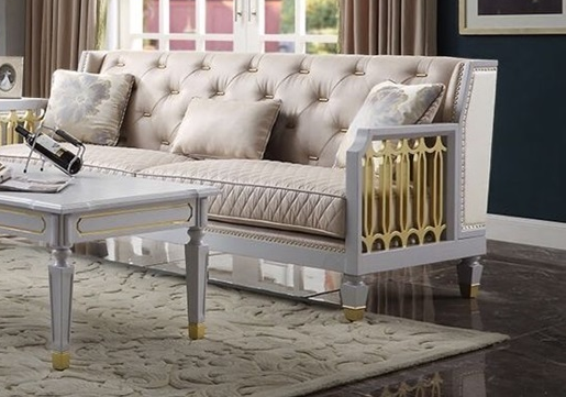 Acme Furniture House Marchese Sofa in White 58865 image