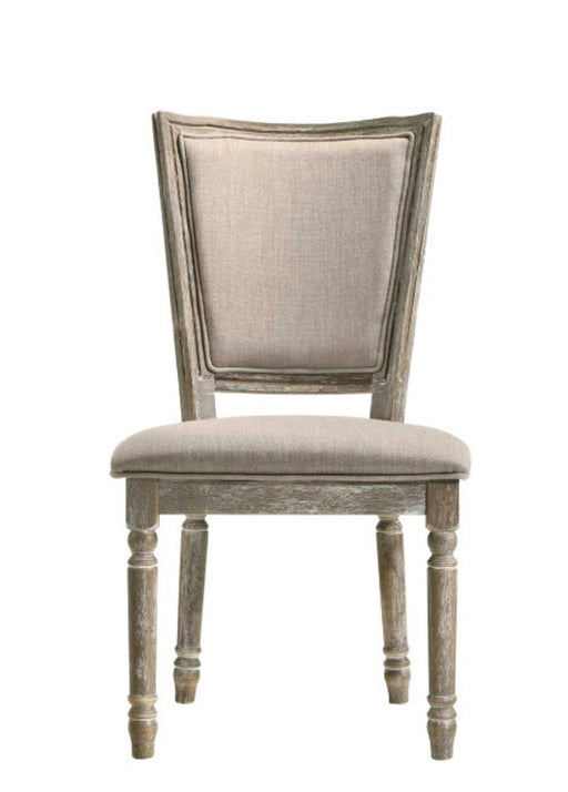 Acme Furniture Gabrian Side Chair (Set of 2) in Reclaimed Gray 60172 image