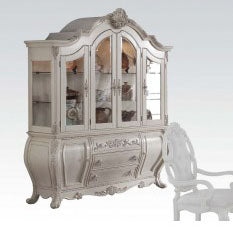 Acme Ragenardus Hutch and Buffet in Antique White 61284 image