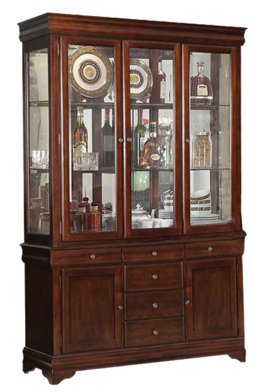 Acme Furniture Mahavira Hutch & Buffet in Espresso 60685 image
