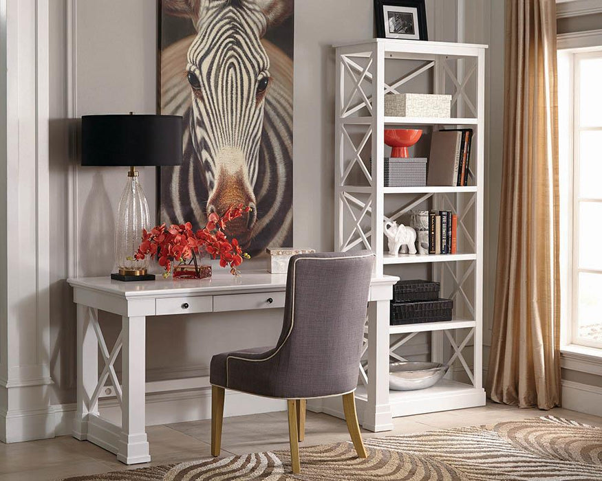 Johansson Transitional Antique White Writing Desk image