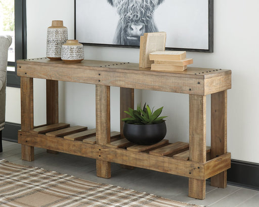 Susandeer Signature Design by Ashley Sofa Table image