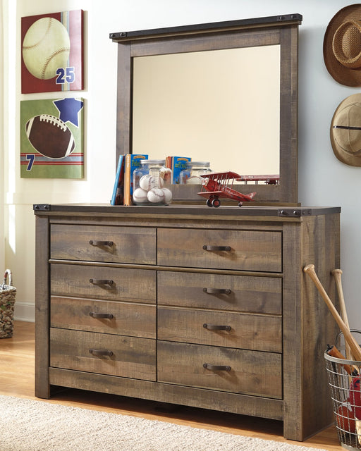 Trinell Signature Design by Ashley Dresser and Mirror image