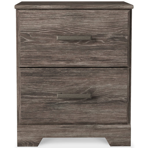 Ralinksi Signature Design by Ashley Two Drawer Night Stand image