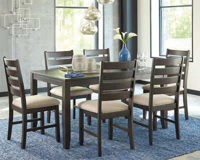 Rokane Signature Design by Ashley Dining Table Set of 7 image