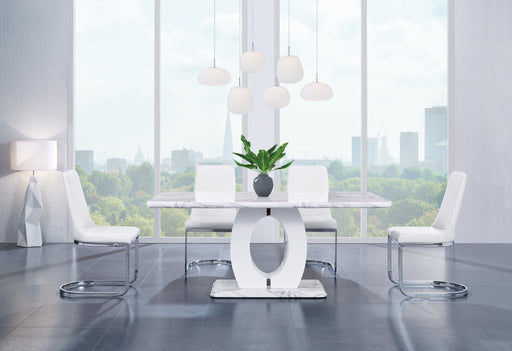 White Dining Table D894DT image