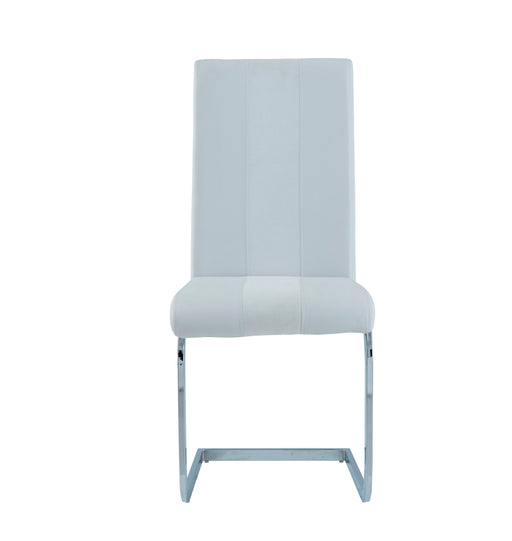 White Set Of 4 Dining Chairs D915DC-WH image
