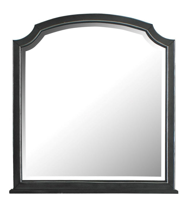 Acme Furniture House Beatrice Mirror in Light Gray 28814 image
