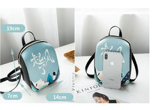 Load image into Gallery viewer, Small trendy personalized printing new fashion  leisure bag