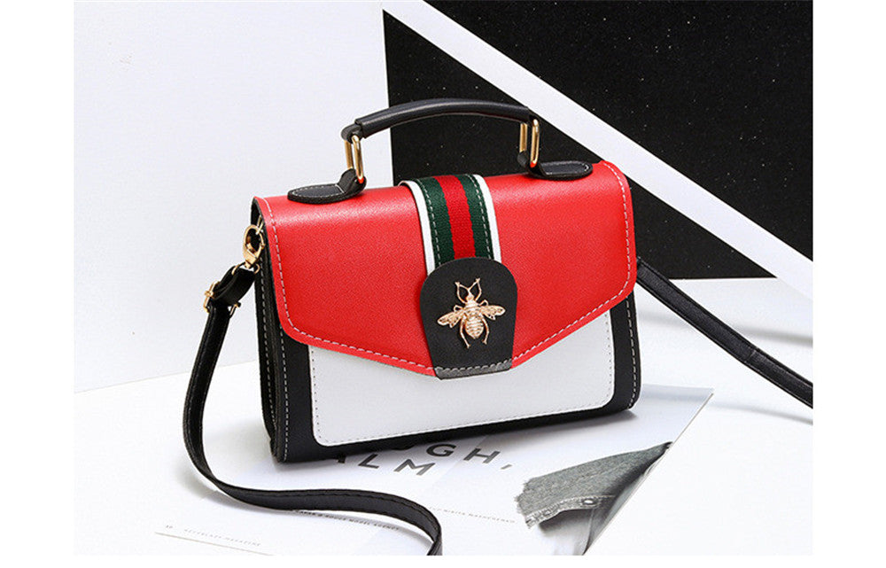 Small bag female new trendy wild crossbody bag fresh shoulder bag