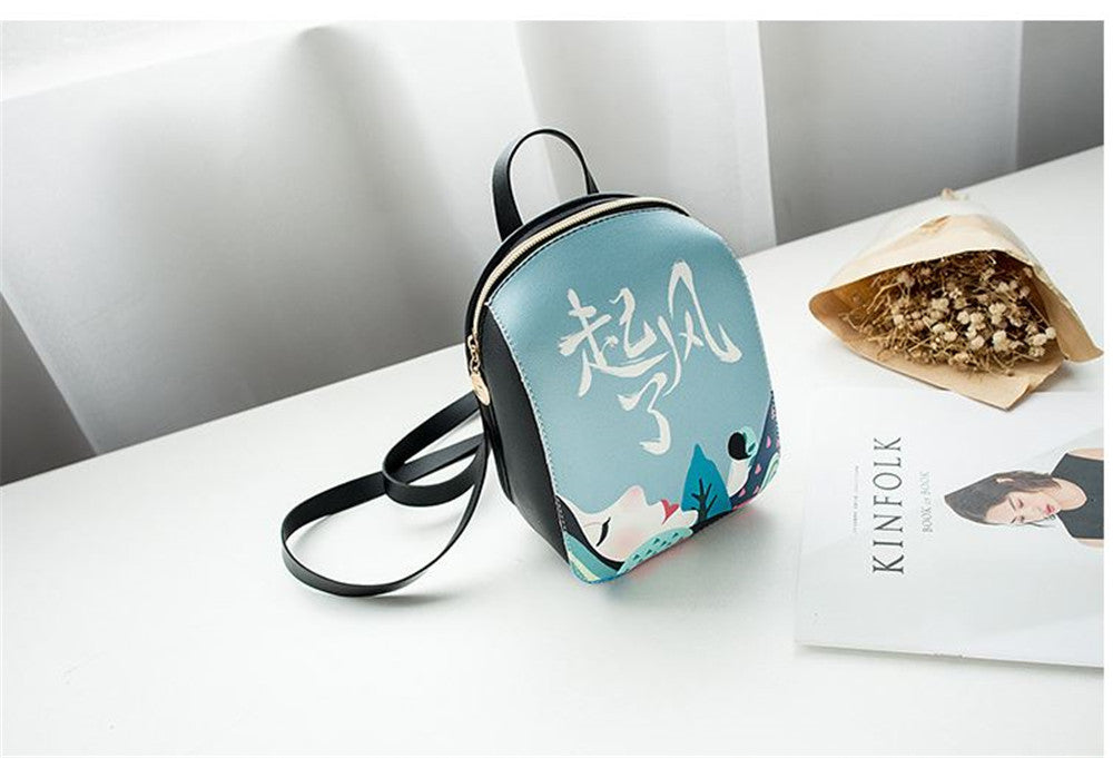 Small trendy personalized printing new fashion  leisure bag