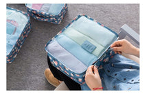 Load image into Gallery viewer, 6pcs travel storage bag set multifunction enlarged luggage storage bag