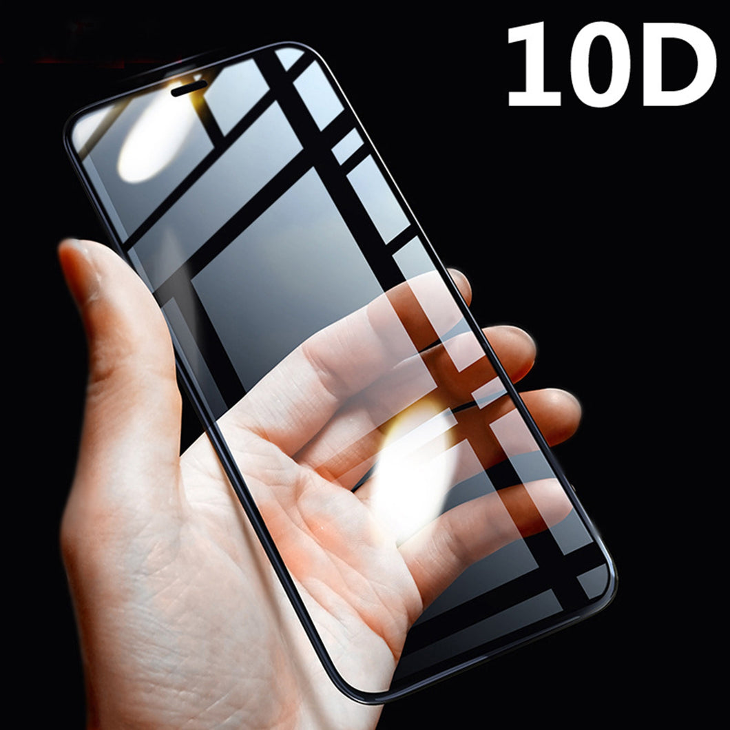 Iphone Screen Protector 10D Full Cover Tempered Glass Screen Protecter Protection for Iphone