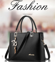 Load image into Gallery viewer, Fashion women's bag messenger shoulder handbag Pu Leather