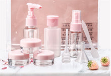 Load image into Gallery viewer, 9pcs travel small sample sub-bottling spray cosmetics empty bottles