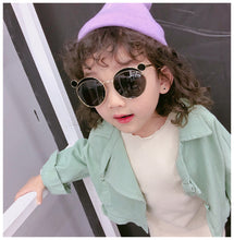 Load image into Gallery viewer, New fashion cute children's sunglasses for boys and girls  kids