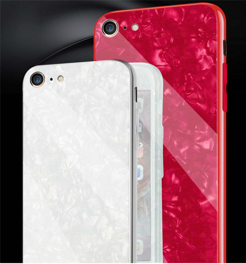 Case Waterproof Case  Defender Shell Tempered Glass Case Fashion Hard Case For IPHONE