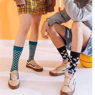 New style street women's men's trendy socks mid-tube cotton socks