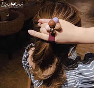 Color hair tie hair rope wild ladies Korean head rope fashion