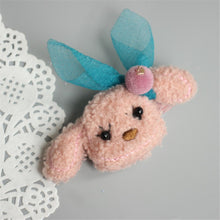 Load image into Gallery viewer, Children's puppy hairpin cute cartoon hair rope tie teddy hair accessories