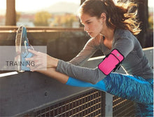 Load image into Gallery viewer, Outdoor sports mobile phone arm bag running fitness wrist arm bag