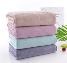 Load image into Gallery viewer, Bath towel towel, beauty shop club body towel  soft, absorbent