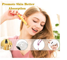 Load image into Gallery viewer, 3D T shape face massager roller electric anti aging wrinkles face Lift