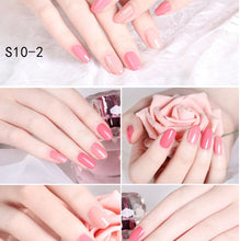 Load image into Gallery viewer, Set Nail Polish Quick-drying Peelable and Tearable Waterborne Beginner Nail Polish 5ml*10 Bottled