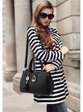 Load image into Gallery viewer, Female handbag trendy fashion female pu leather shoulder bag
